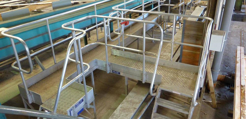 Aluminium Conveyor Step