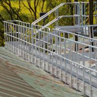 Aluminium Roof Walkway