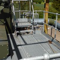 Galvanised Mild Steel Platform